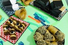 Cannoncini al Caffe * Stecco al Fior di Latte e Cioccolato * Mattonelle Croccantino e Zabaione * Cannoncini Croccantino e Zabaione